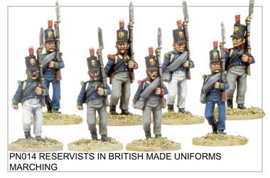 PN014 Reservists in British Uniforms