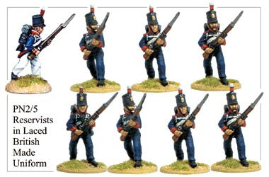 PN025 Reservists in Laced British Uniform