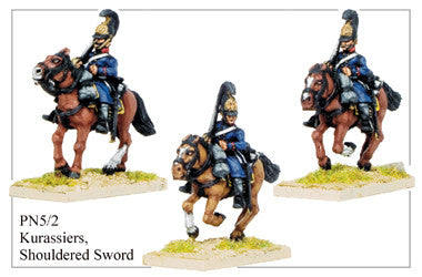 PN052 Cuirassiers with Shouldered Sword