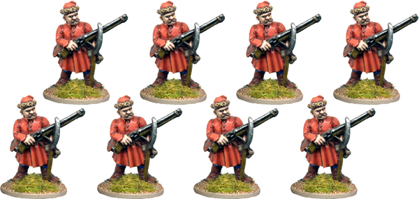 POL005 - Cossack (or Polish Peasant, Hungarian or Wallachian) Musketeers