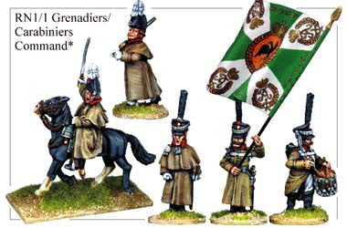 RN011 Grenadiers or Carabiniers Command