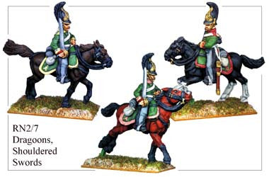 RN027 Dragoons with Shouldered Swords