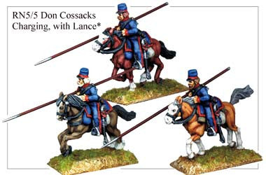 RN055 Don Cossacks Charging with Lance
