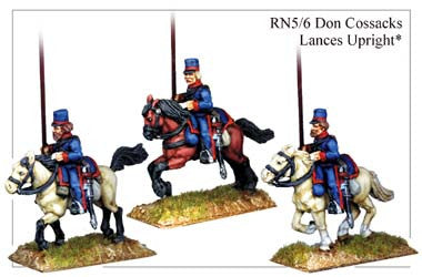 RN056 Don Cossacks with Lances Upright