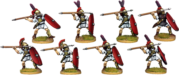 RR002 - Roman Legionary Hastati Attacking