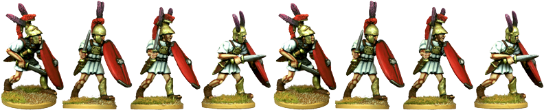 RR005 - Roman Legionary Hastati with Swords