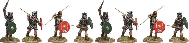 RR006 - Roman Legionary Velites (Light Infantry)