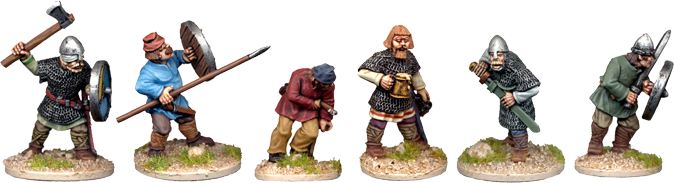 SAX005 - Saxon Shield Wall Characters