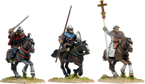 SAX015 - Mounted Saxon Characters