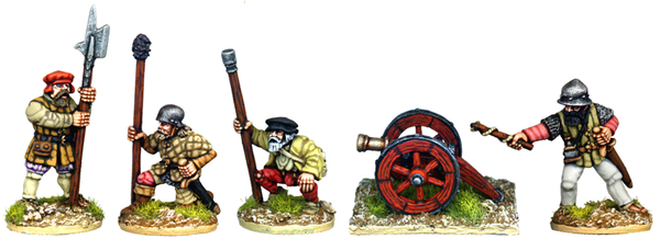 SB018 - Artillery Crew And Gun