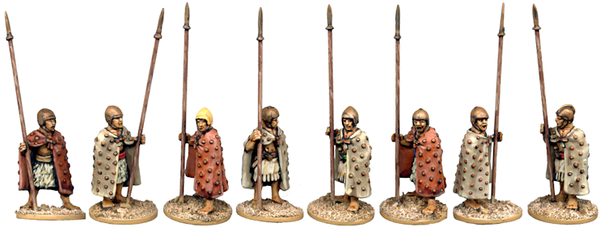 SUM002 - Cloaked Spearmen at the Ready