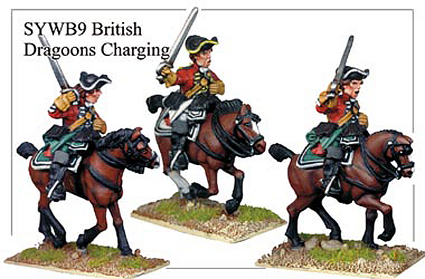 SYWB009 - British Dragoons Charging