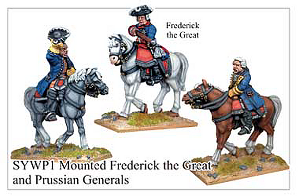 SYWP001 - Prussian Mounted Frederick The Great And Generals