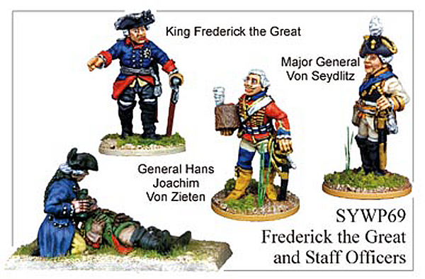 SYWP069 - Prussian Frederick The Great And Staff