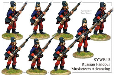 SYWR015 Pandour Musketeers Advancing