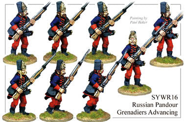 SYWR016 Pandour Grenadiers Advancing