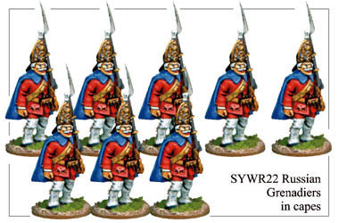 SYWR022 Russian Grenadiers in Covered Mitre