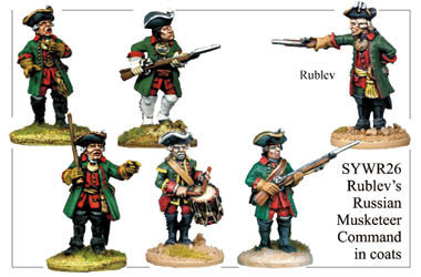 SYWR026 Rublev's Musketeer Command in Coats