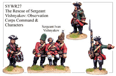 SYWR027 The Rescue of Sergeant Vishnyakov: Observation Corps Command & Characters