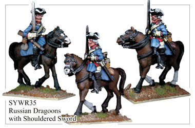 SYWR035 Russian Dragoons with Shouldered Sword