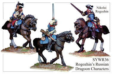 SYWR036 Rogozhin's Russian Dragoon Characters