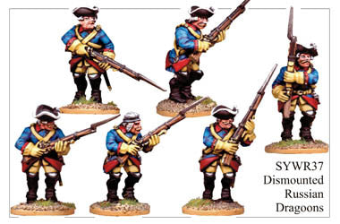 SYWR037 Dismounted Russian Dragoons