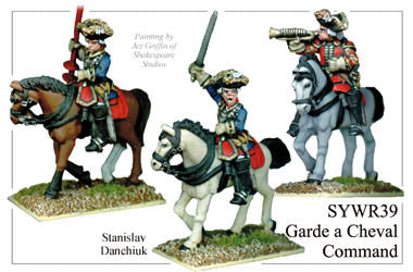 SYWR039 Russian Garde a Cheval Command