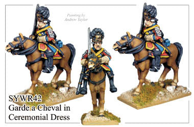 SYWR042 Russian Garde a Cheval in Ceremonial Dress