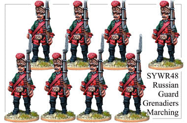 SYWR048 Gavrilok Nosov's Russian Guard Grenadiers Marching