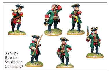SYWR007 Russian Musketeer Command