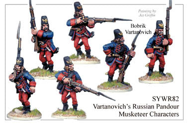 SYWR082 Vartanovich's Pandour Musketeer Characters