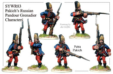 SYWR083 Pakich's Pandour Grenadier Characters