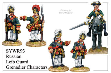 SYWR093 Russian Leib Guard Grenadier Characters
