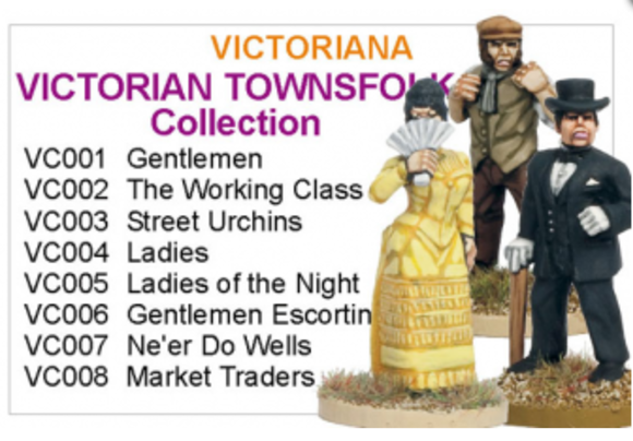 BCVC001 - Victorian Townsfolk Collection