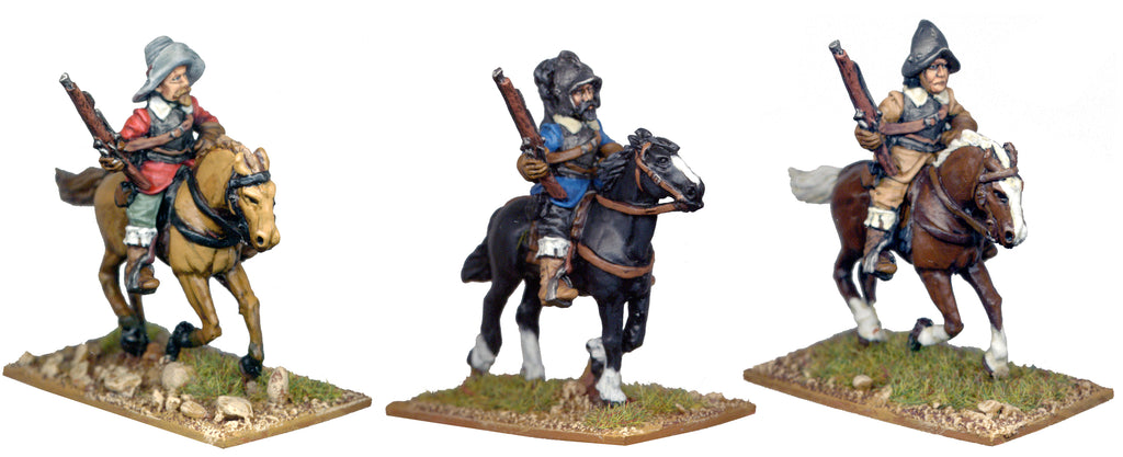 TYW006 - Mounted Arquebusiers