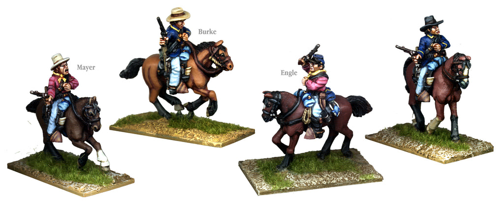 US001A - US Cavalry Mounted Greenhorns