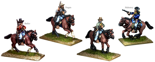 US004B - US Cavalry Mounted Old Sweats