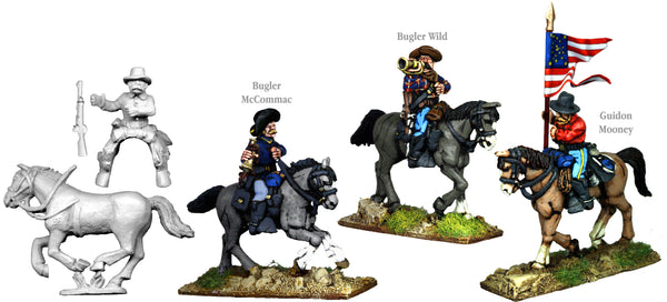 US005A - US Cavalry Mounted Command