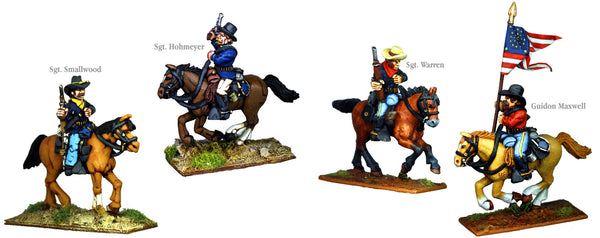 US005B - US Cavalry Mounted Command