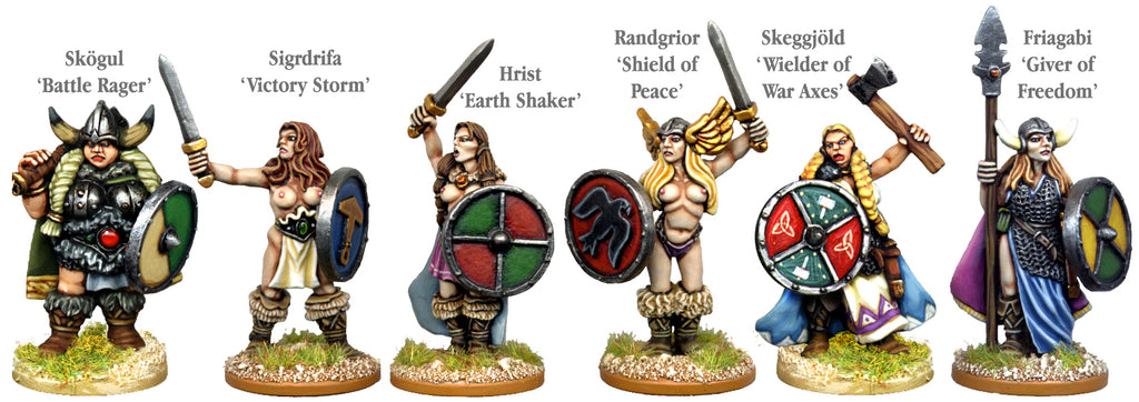 VIK054 - Viking Valkyries Daughters Of Freya
