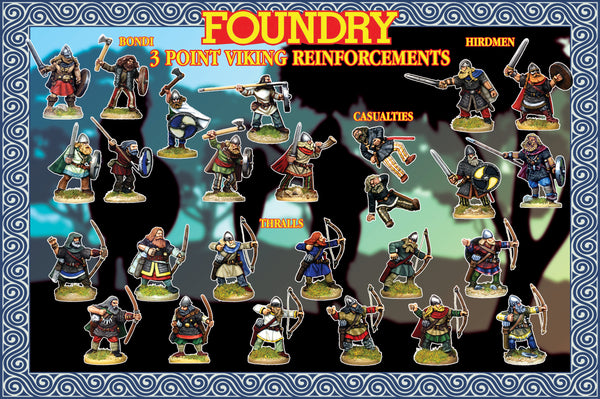 Viking Reinforcements (3 points) Suitable for SAGA