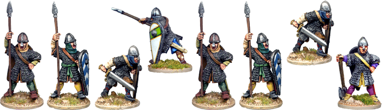 VNS006 - Armoured Normans or Anglo Saxons