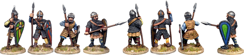 VNS008 - Armoured Norman Spearmen