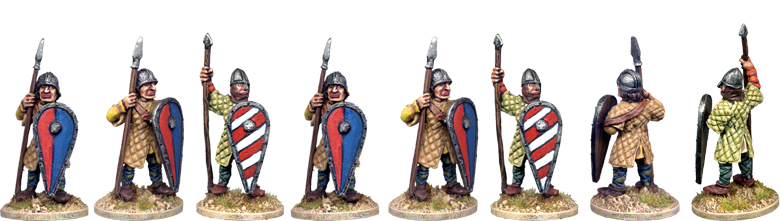 VNS009 - Norman Spearmen in Gambeson