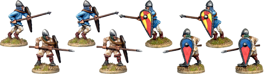 VNS010 - Unarmoured Norman Spearmen