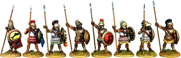 WG015 - Armoured Athenian Hoplites At The Ready