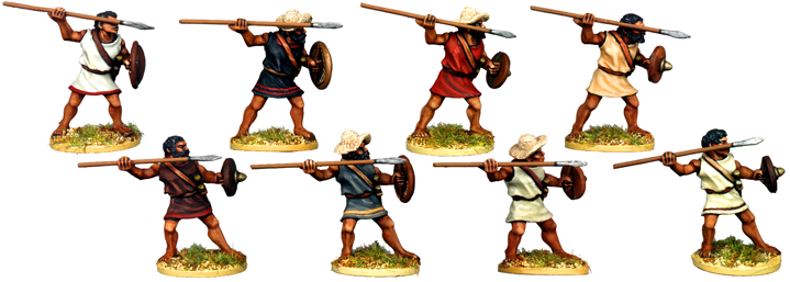 WG017 - Greek or Macedonian Javelinmen Attacking