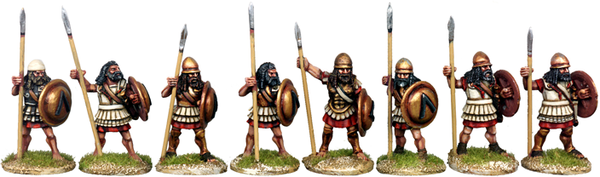 WG022 - Armoured Spartan Hoplites At The Ready