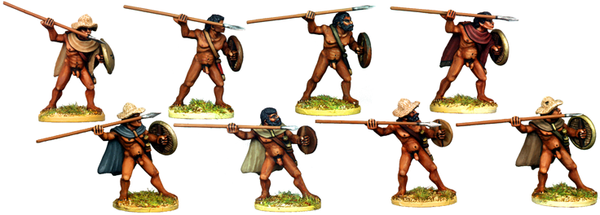 WG027 - Naked Greek or Macedonian Javelinmen