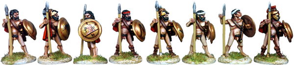 WG035 - Naked Athenian Hoplites At The Ready